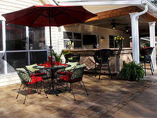 Paver Patios & Walkways